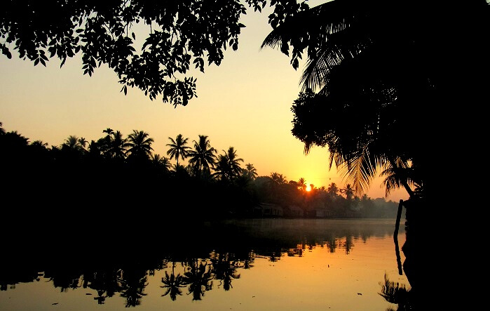 Alleppey Sunset View