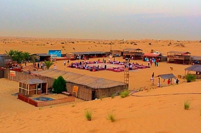 Atlanta desert safari camp in Dubai