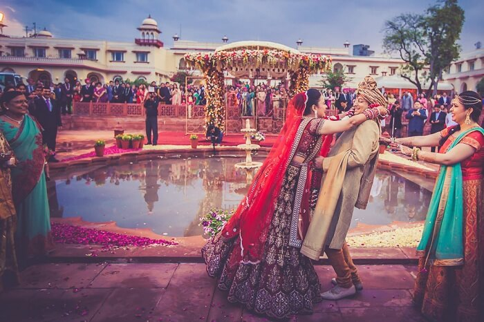 Destination wedding at Jai Mahal Palace in Jaipur
