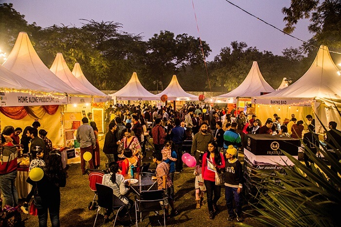 dilli haat food festival