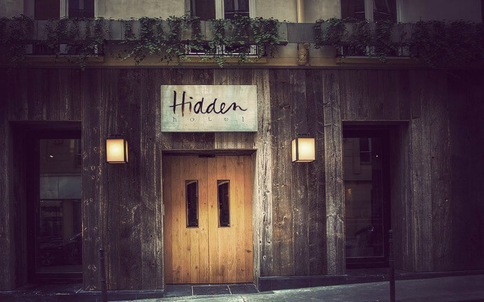 Hidden Hotel in Paris