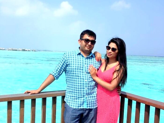 Roaming in Maldives