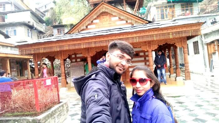 Couple in and around Manali