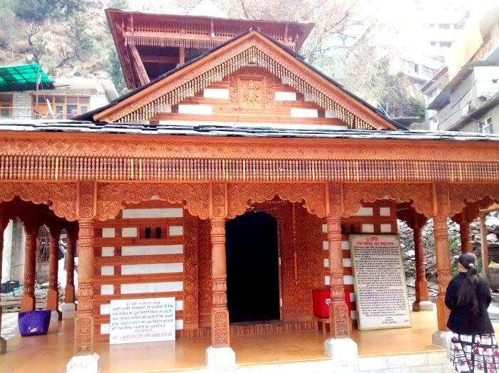 Hidimba temple in Manali