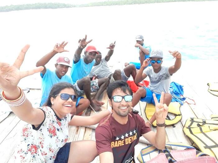 In and around Mauritius beaches