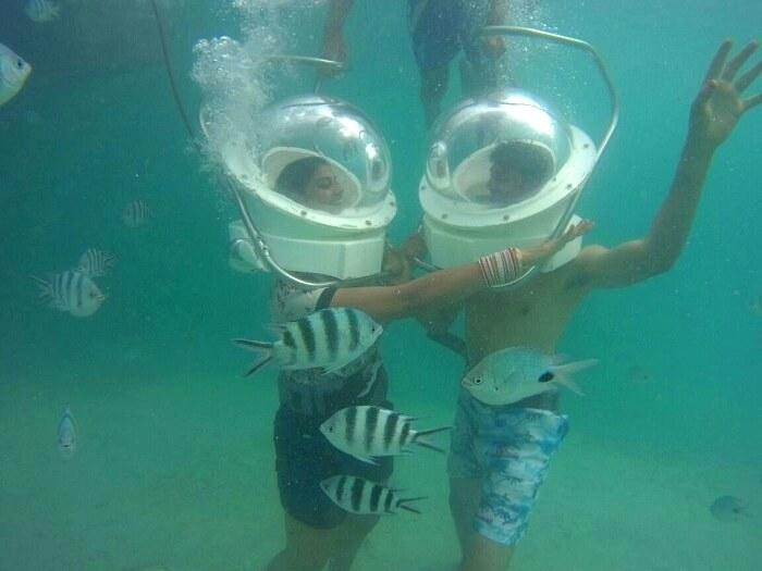 Water adventure in Mauritius