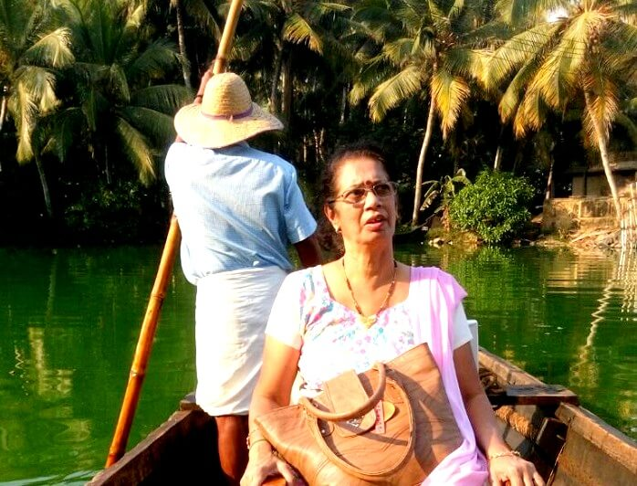 Solo female traveler in Kerala