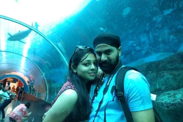 sentosa island aquarium