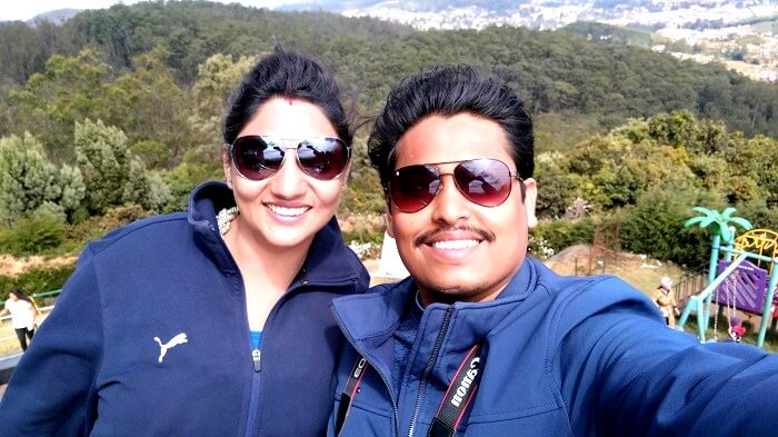 Tourists in Ooty hills