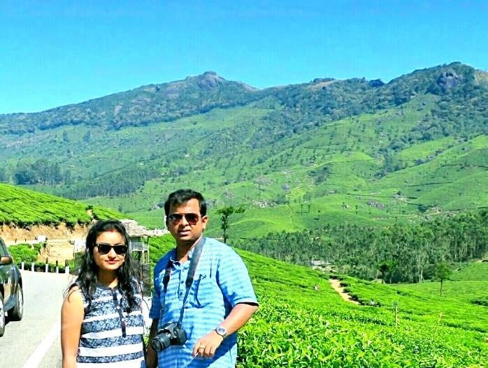 Travelers in Munnar