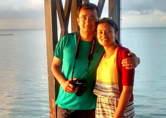 Family trip in mauritius