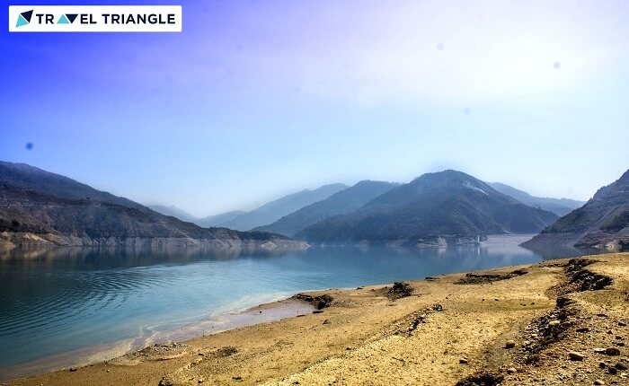 brilliant view of tehri lake