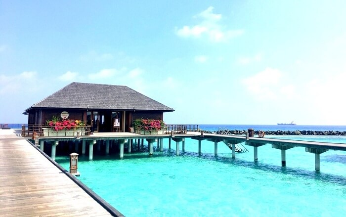 Haven villa resort in Maldives