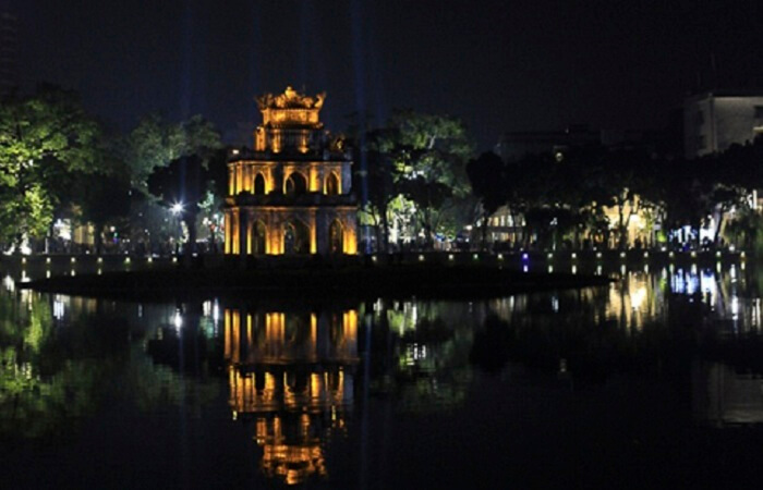Beauty of Hanoi in dark