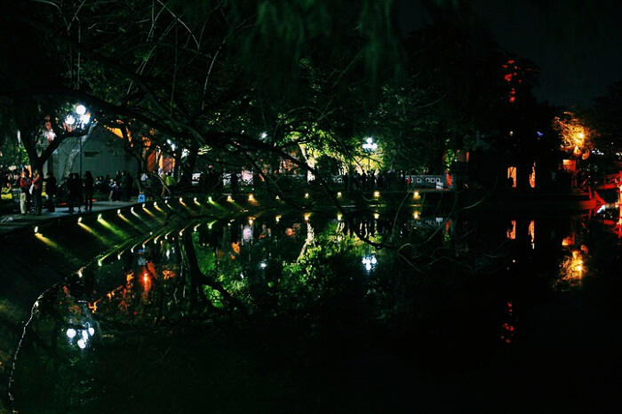 Beauty of the Hanoi city at night