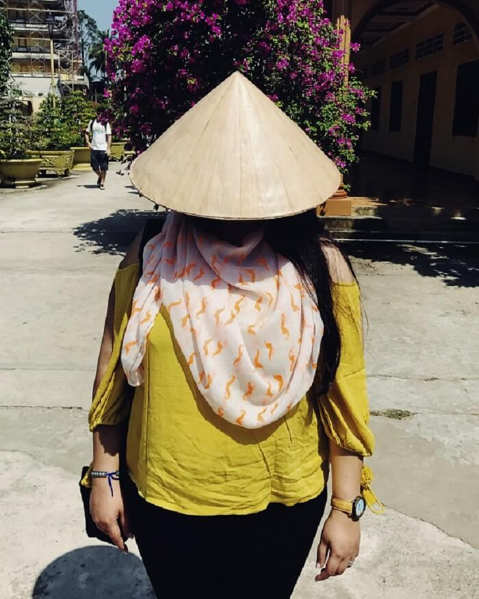 Local attire of Vietnam