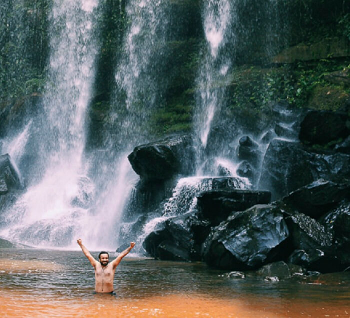 Swimming in the Kulen Mountain