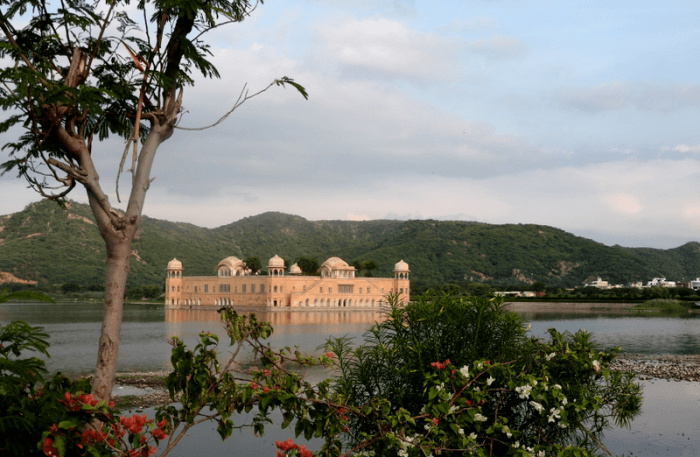 View of Jai Mahal Palace