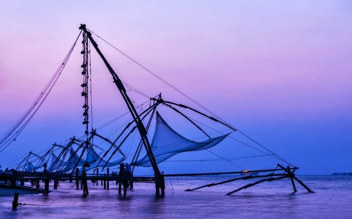 Chinese net in Kerala
