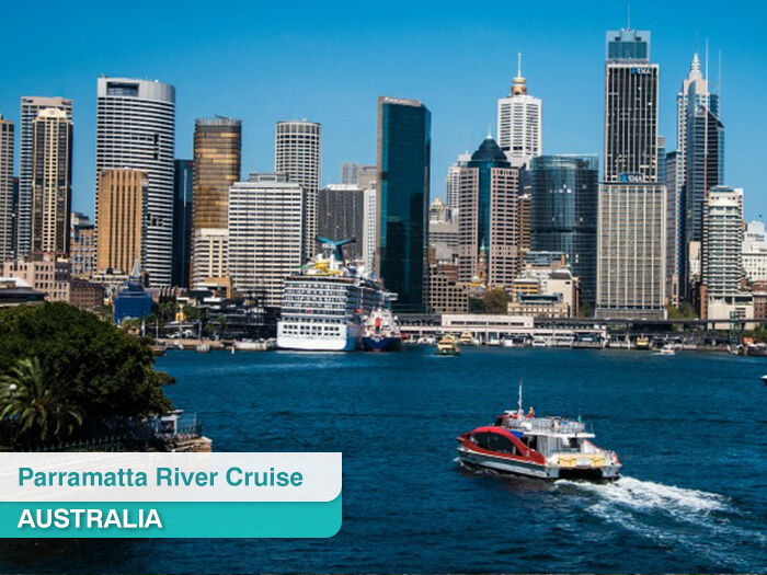 Parramatta River Cruise in Australia