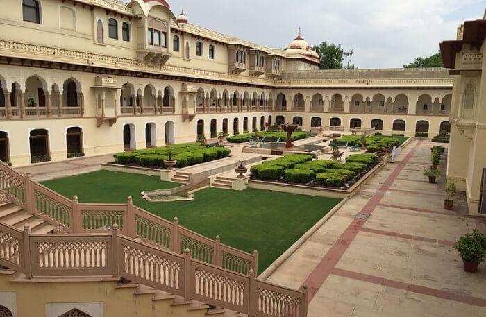 Rambagh Palace View