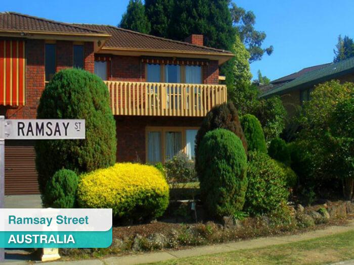 Ramsay Street in Australia