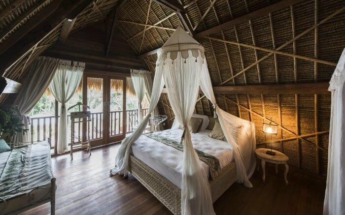 A camp in Sandat Bali
