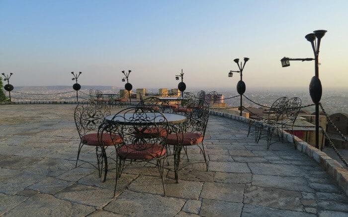 Sitting arrangement in Padao Restaurant
