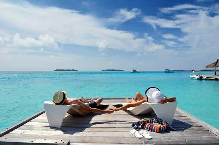 Island Beaches Maldives