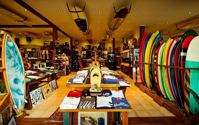 Surf wear shopping bali