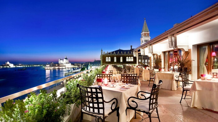 romantic places to eat venice