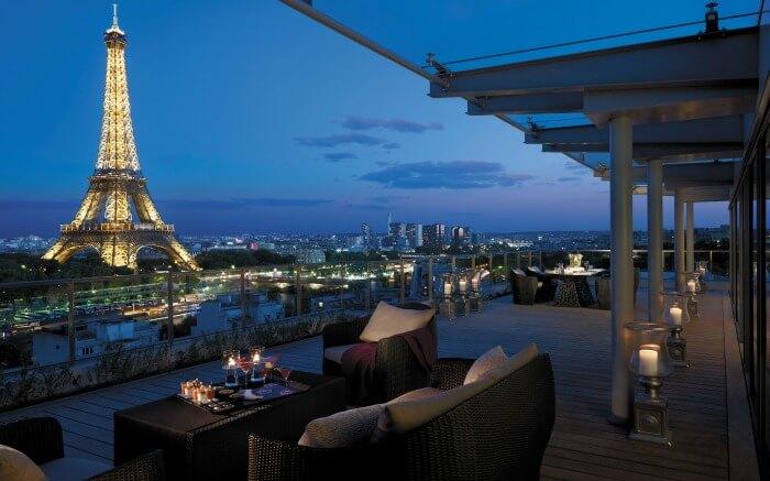 View from Shangri La Paris