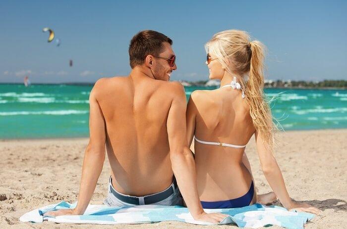 bikini beach in maldives