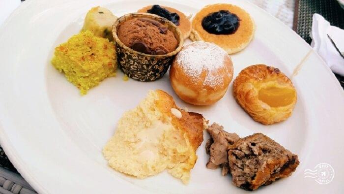 delicious breakfast in Maldives