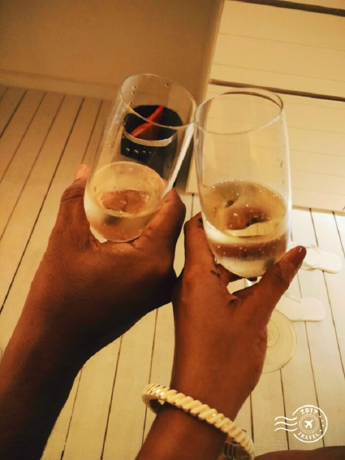 Cheers to Maldives!