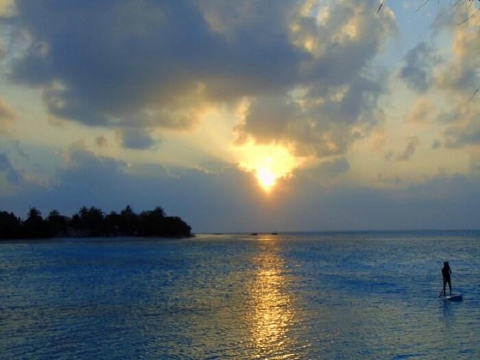 Scenic beauty of Maldives