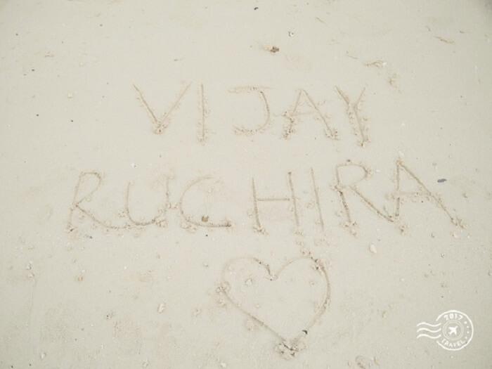 Memorable honeymoon in Maldives