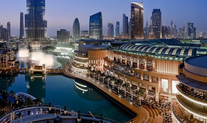 The iconic Dubai Mall