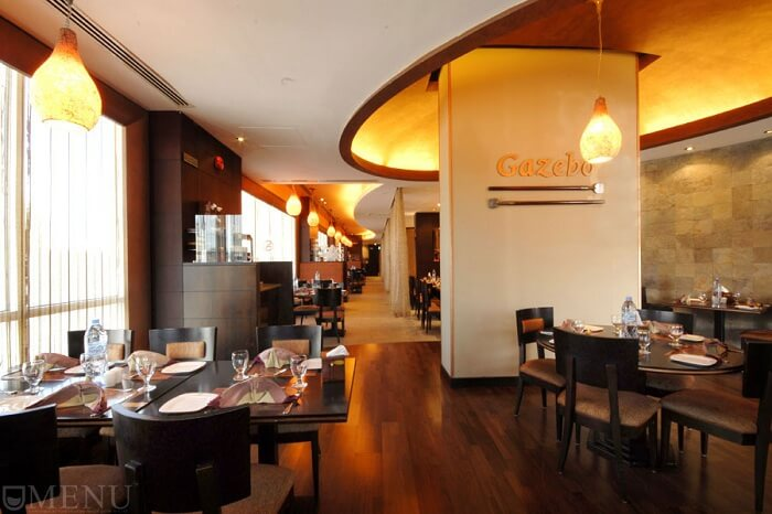 Gazebo restaurant in Dubai