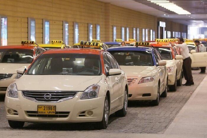 Taxis in Dubai