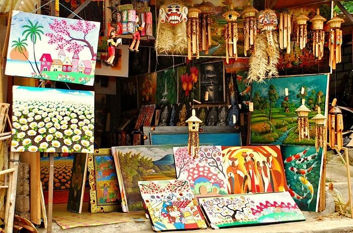 handicrafts market bali