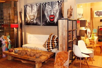 home decor and furniture shopping