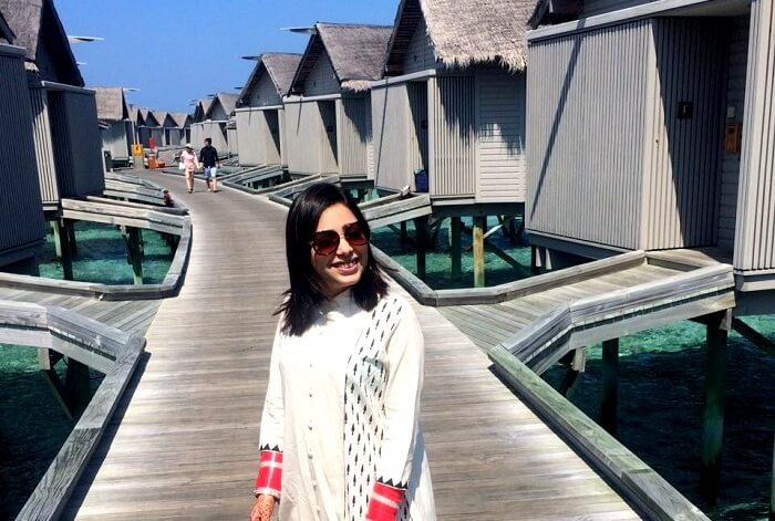 jyotika in maldives