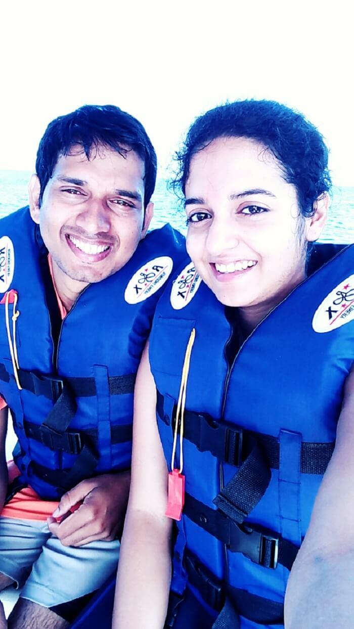 Our adventurous honeymoon in Maldives