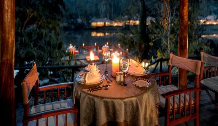 fancy dining coorg