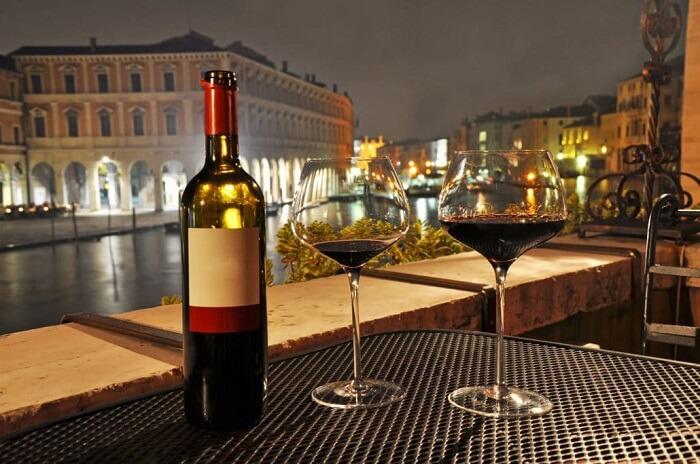 wine in venice