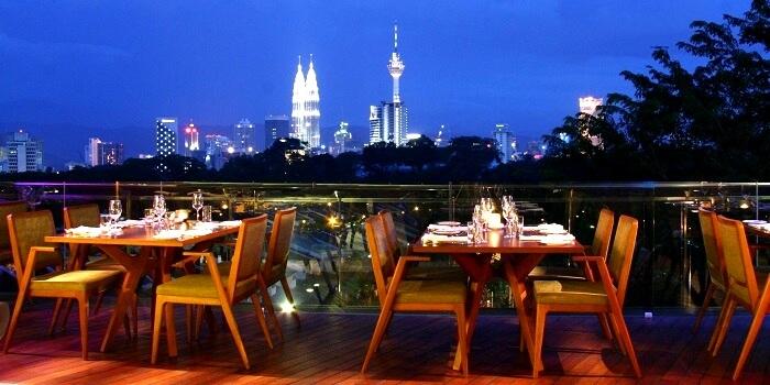 Le Midi Bangsar restaurant in Kuala Lumpur