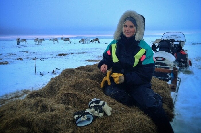 solo female traveler in Finland