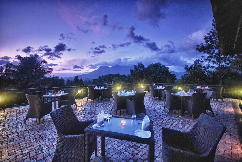 rooftop restaurant in Wayanad