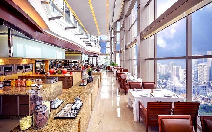 Thirty8 restaurant in Kuala Lumpur